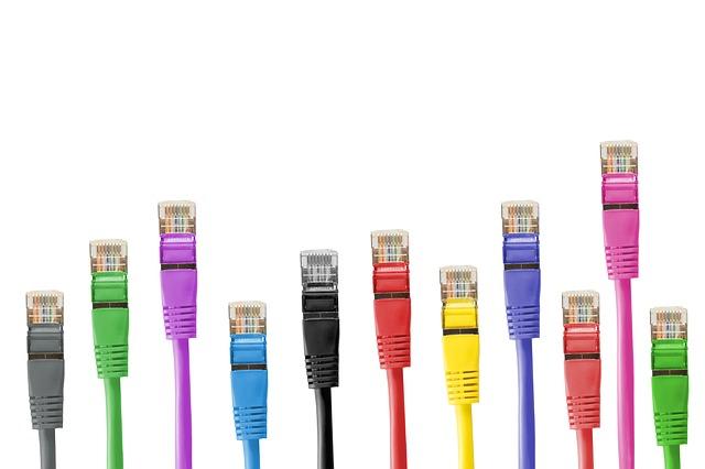 barevné konektory