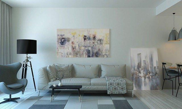 Moderní obývací pokoj na dosah krok po kroku