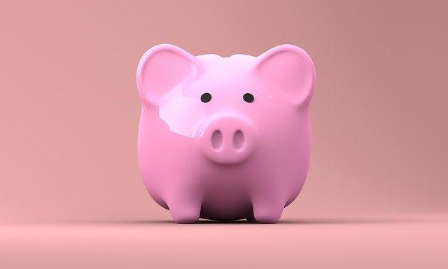 kasička na úspory