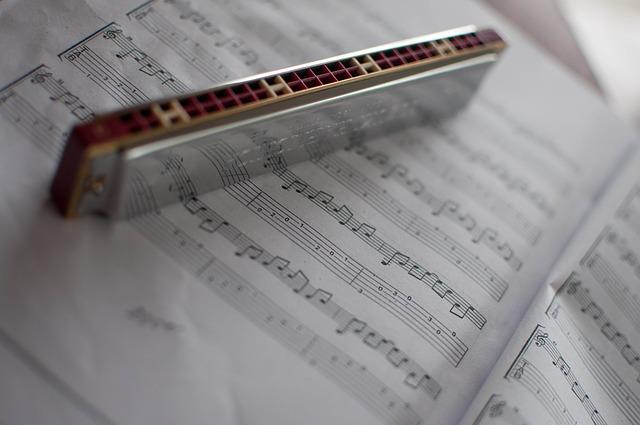 harmonika a noty